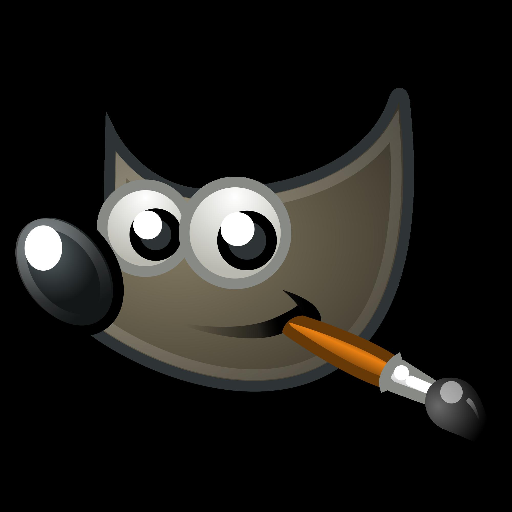 graphic free library File the icon gnome. Vector gimp logo
