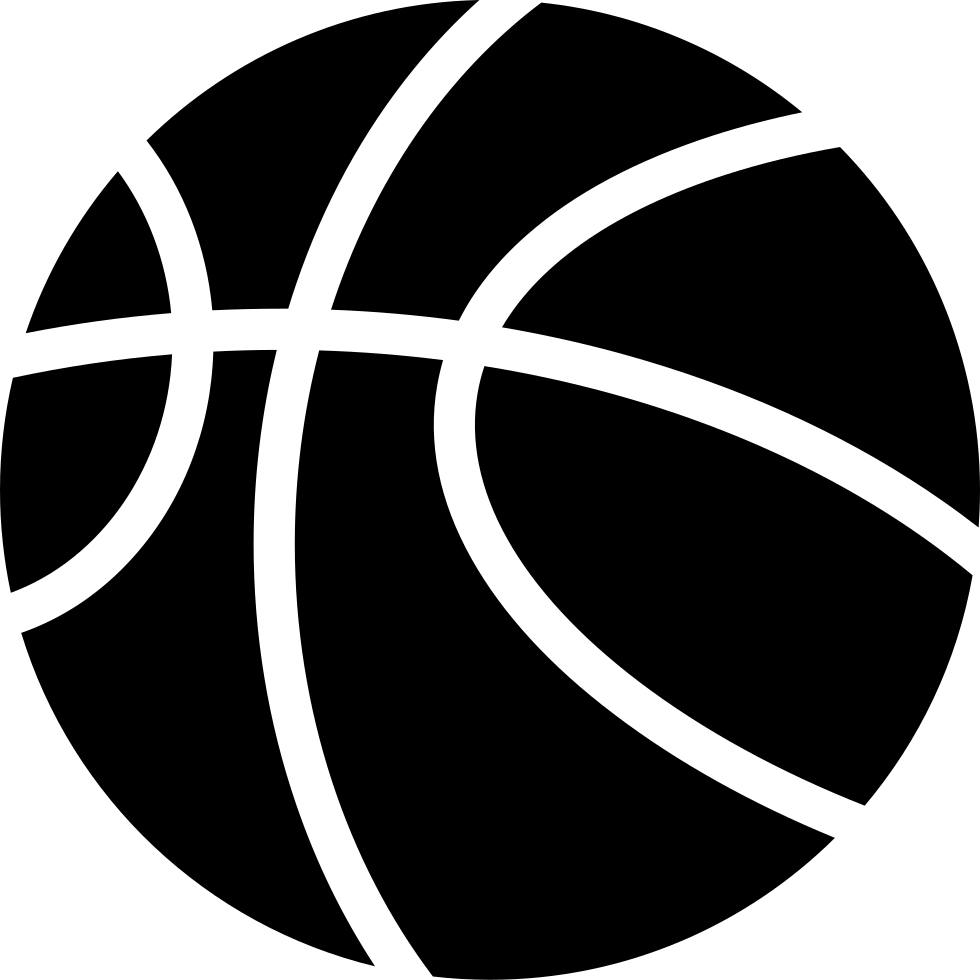 clip art black and white download Basketball Svg Png Icon Free Download