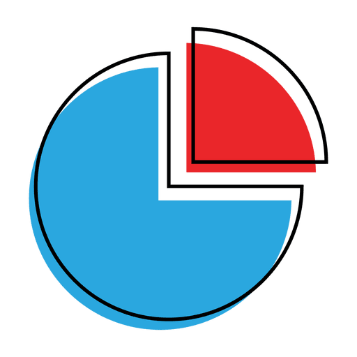 jpg free Graph pie chart icon