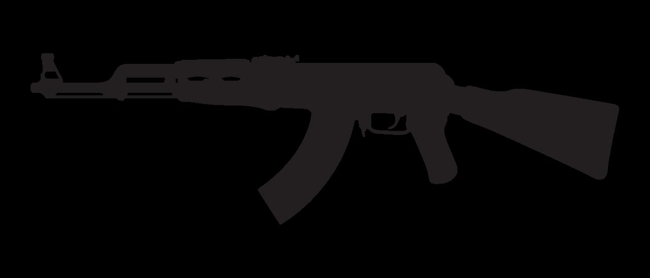 banner svg gun ak47 #104309683