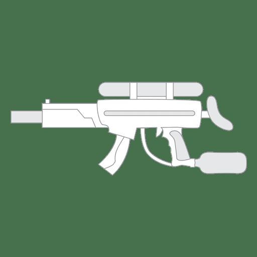 banner royalty free Gun silhouette