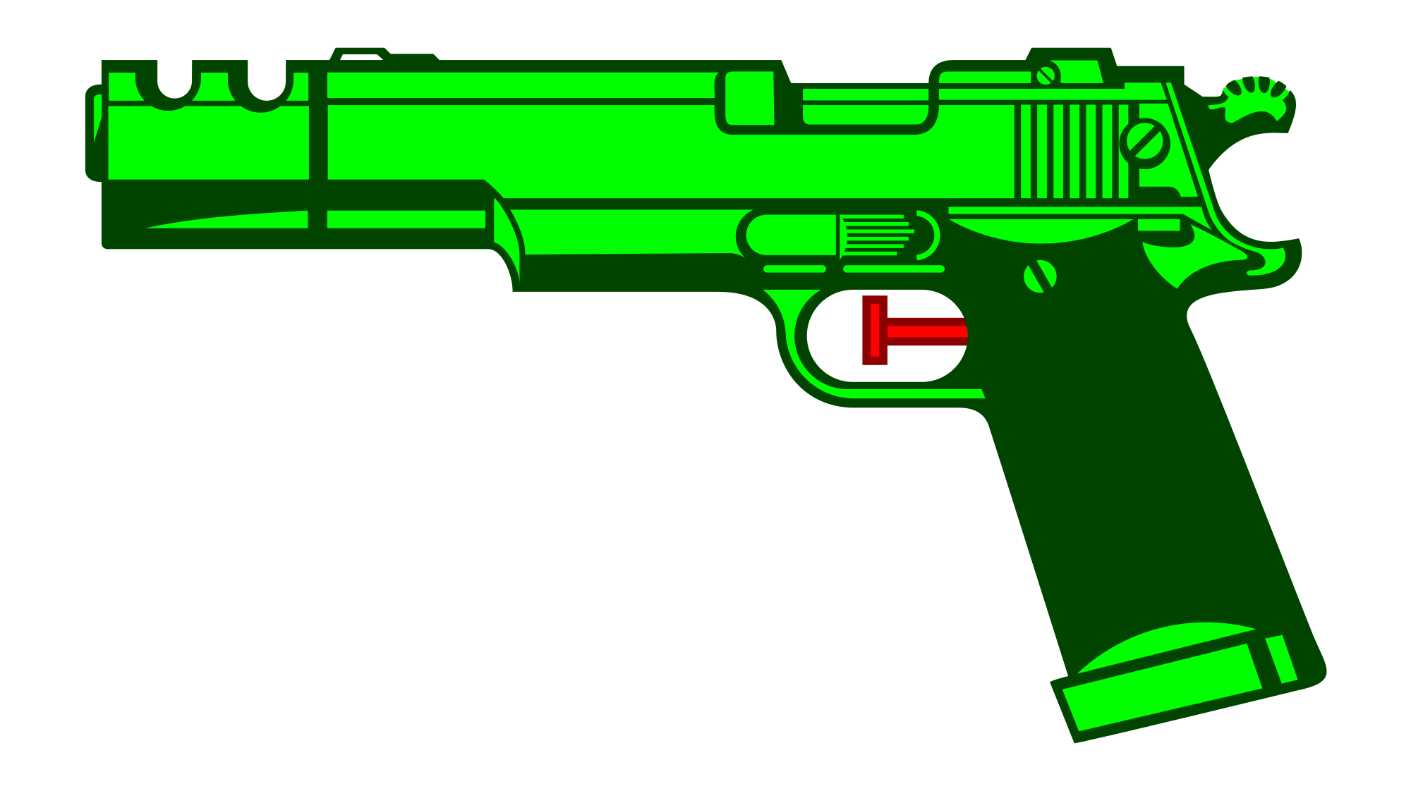svg freeuse stock svg gun cartoon #104315914