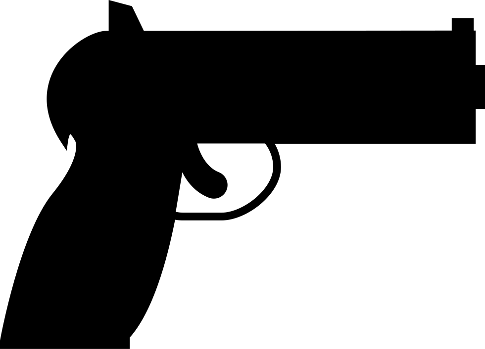 jpg royalty free library Hand Gun Svg Png Icon Free Download