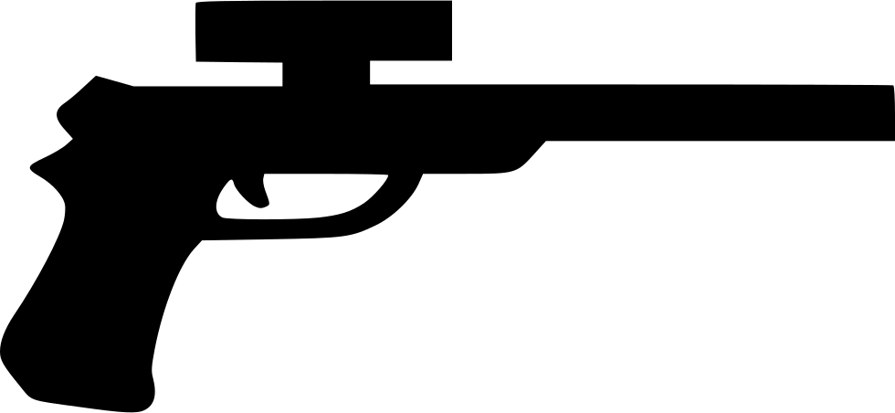 png black and white stock Game Pistol Svg Png Icon Free Download