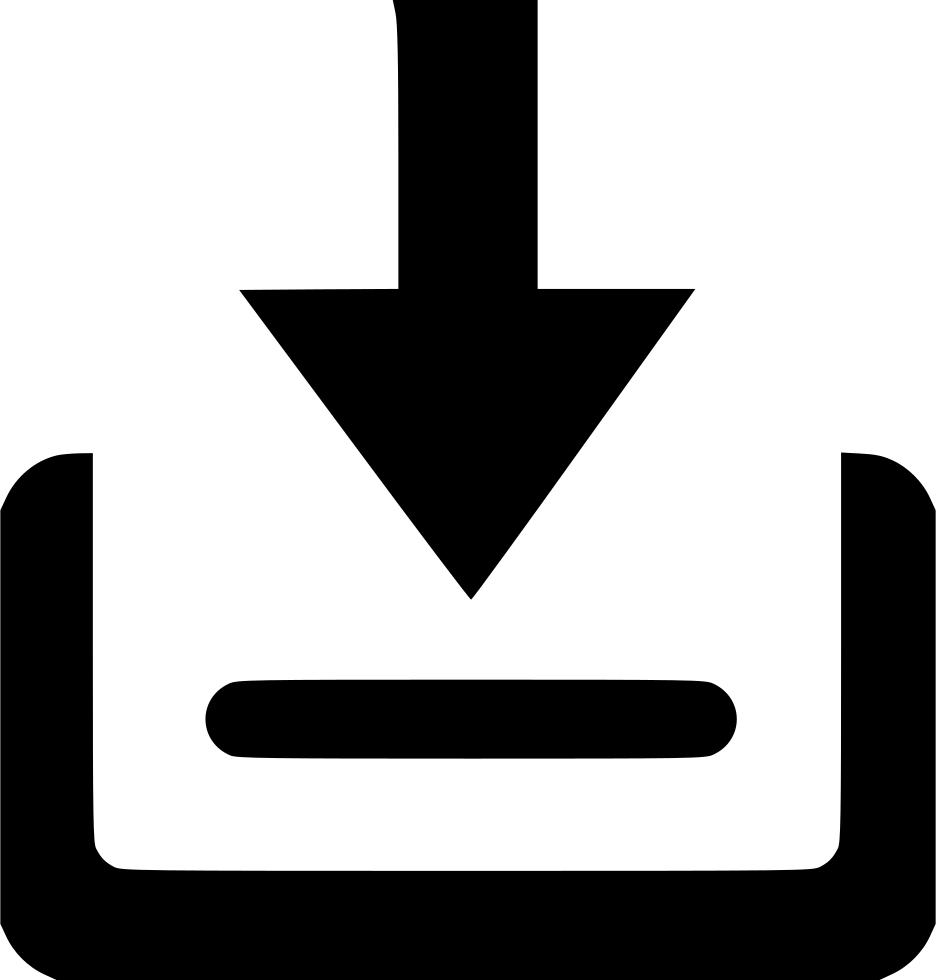 clip black and white stock Inbox Queue Box Mail Letter Svg Png Icon Free Download