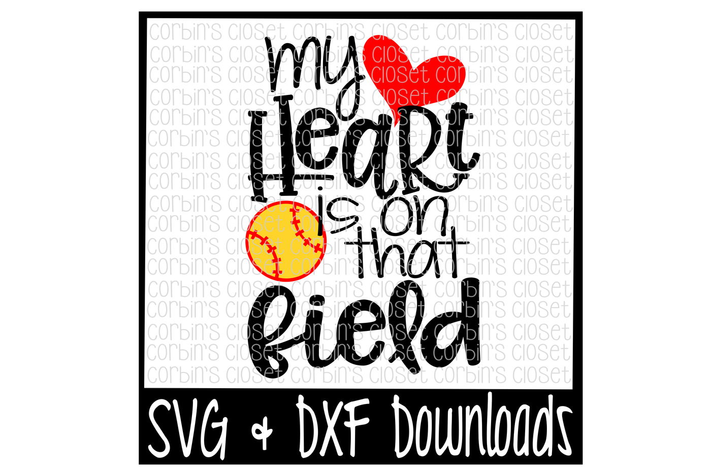 graphic transparent stock Softball Mom SVG