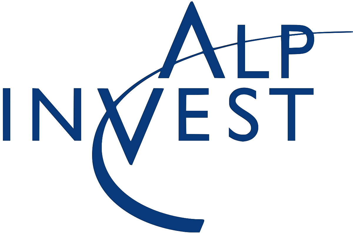 graphic black and white library AlpInvest Partners