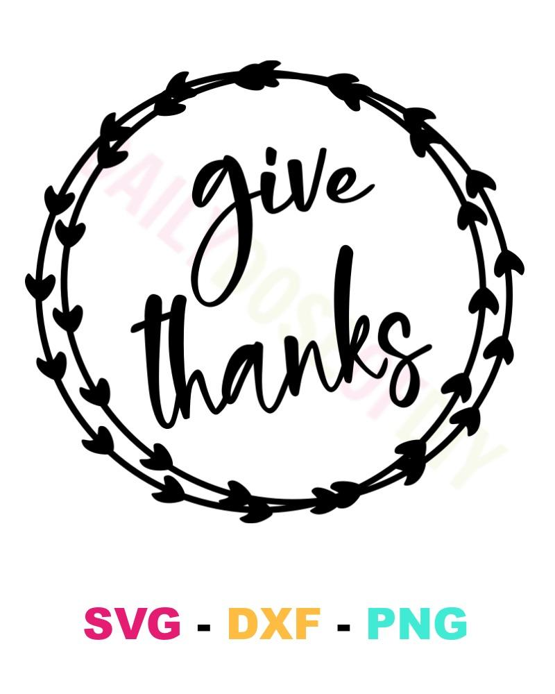 vector library download Give thanks file . Svg pictures