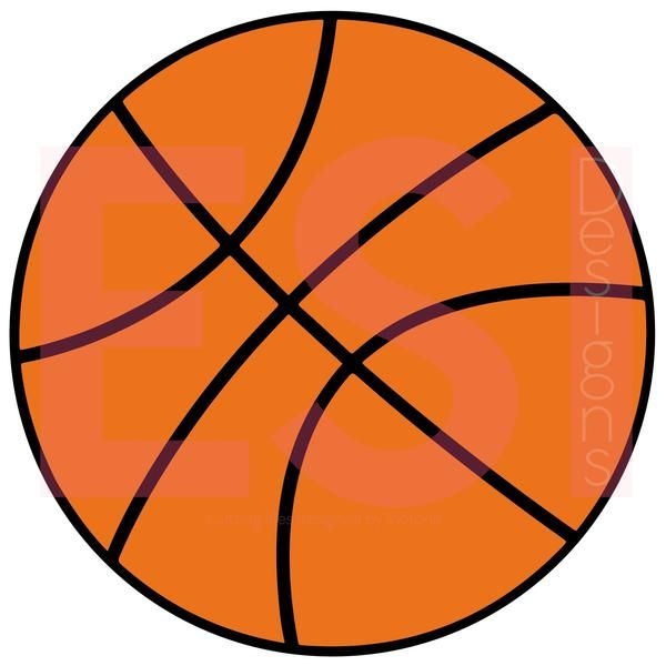 jpg freeuse library Today our free svg. Basketball clip file