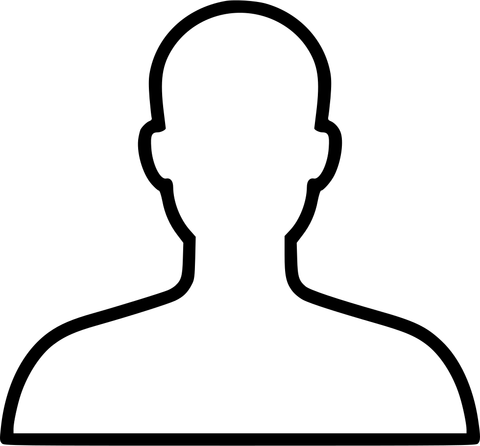 vector library stock Account avatar face head. Typography drawing person
