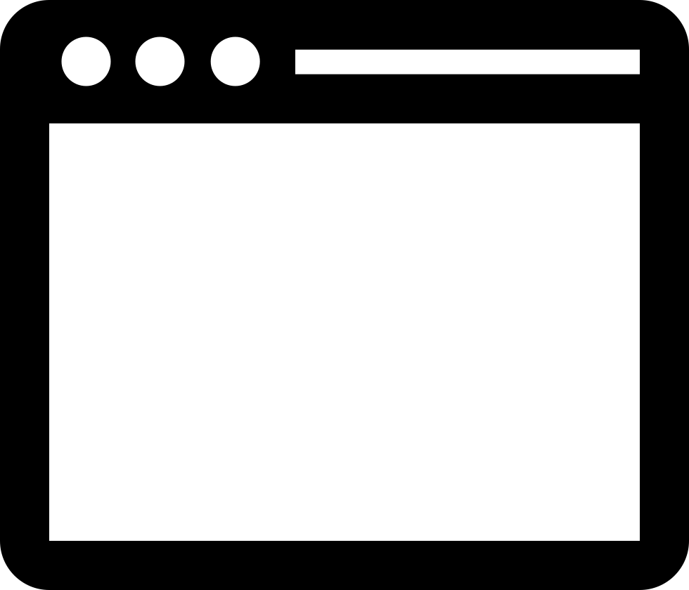 banner freeuse Svg program. Window desktop png icon.