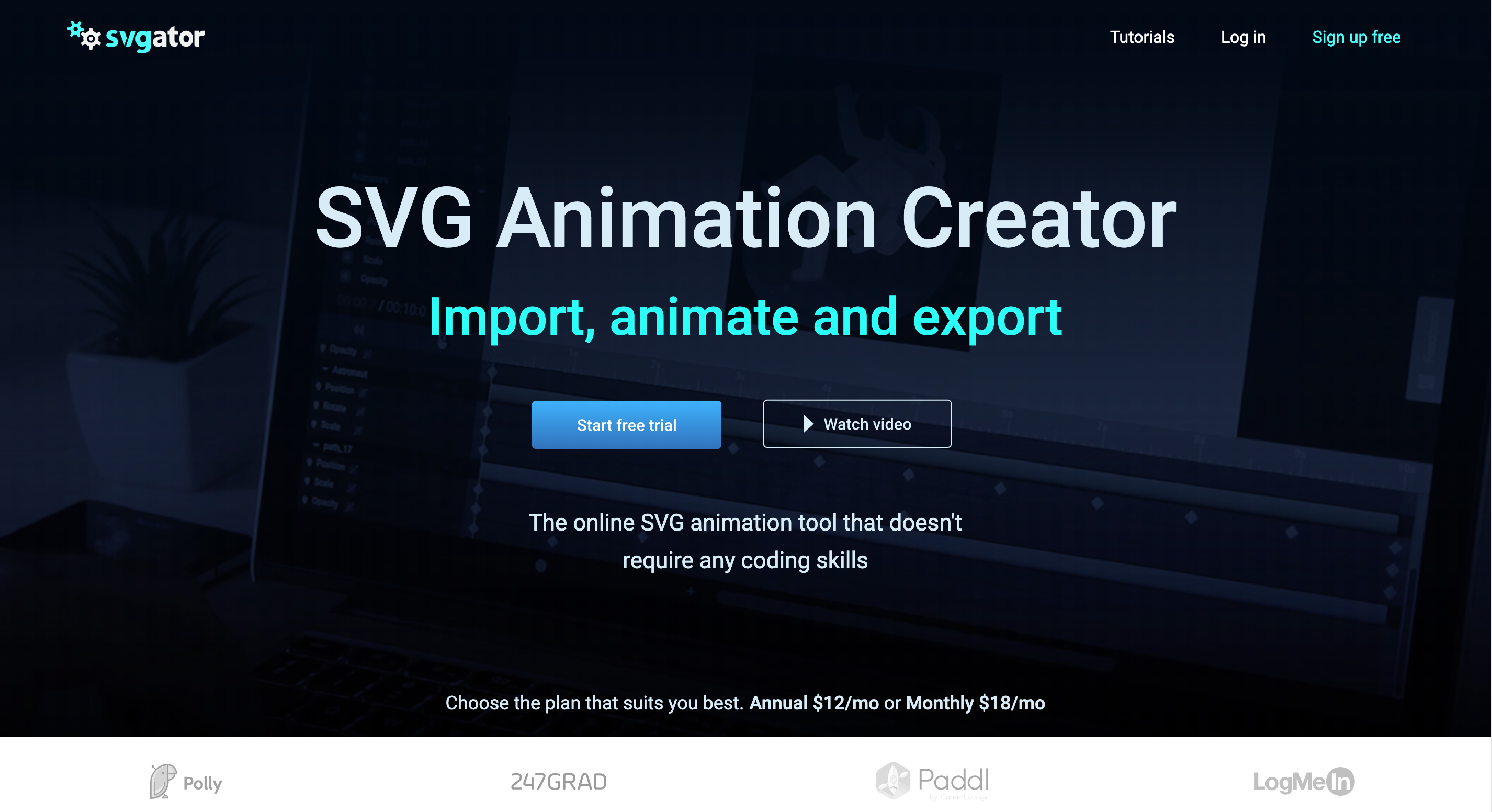 picture black and white Animation creator animate and. Svg program.