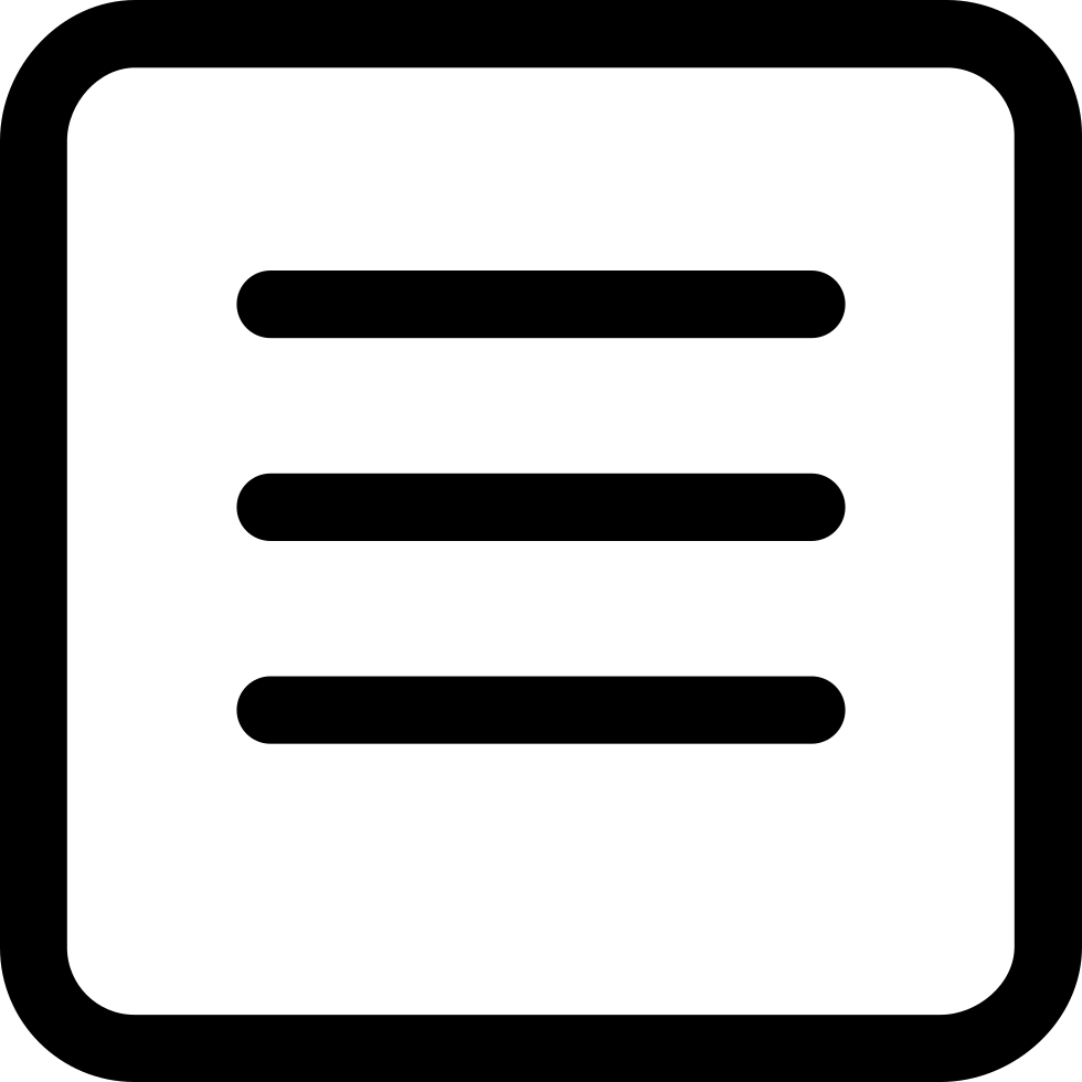 clip freeuse stock Menu Square Button Svg Png Icon Free Download