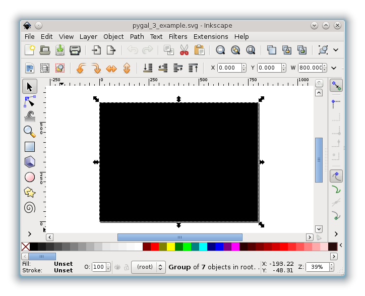 vector black and white download Put vector graphics in your Web pages with Pygal