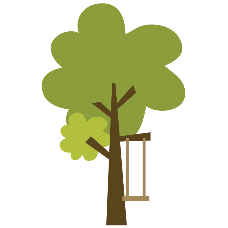 png download Trees svg. Tree with swing file