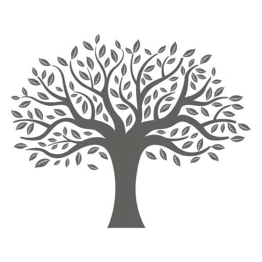 banner download Trees svg. Flat tree silhouette transparent