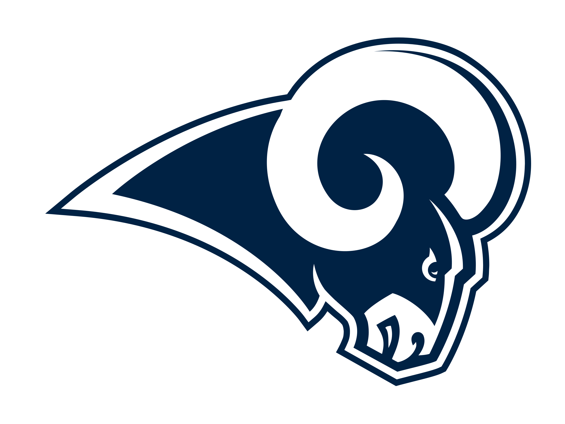 clip transparent stock Los angeles rams logo. Vector svg