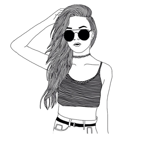 clipart free drawing on hipster #95316263