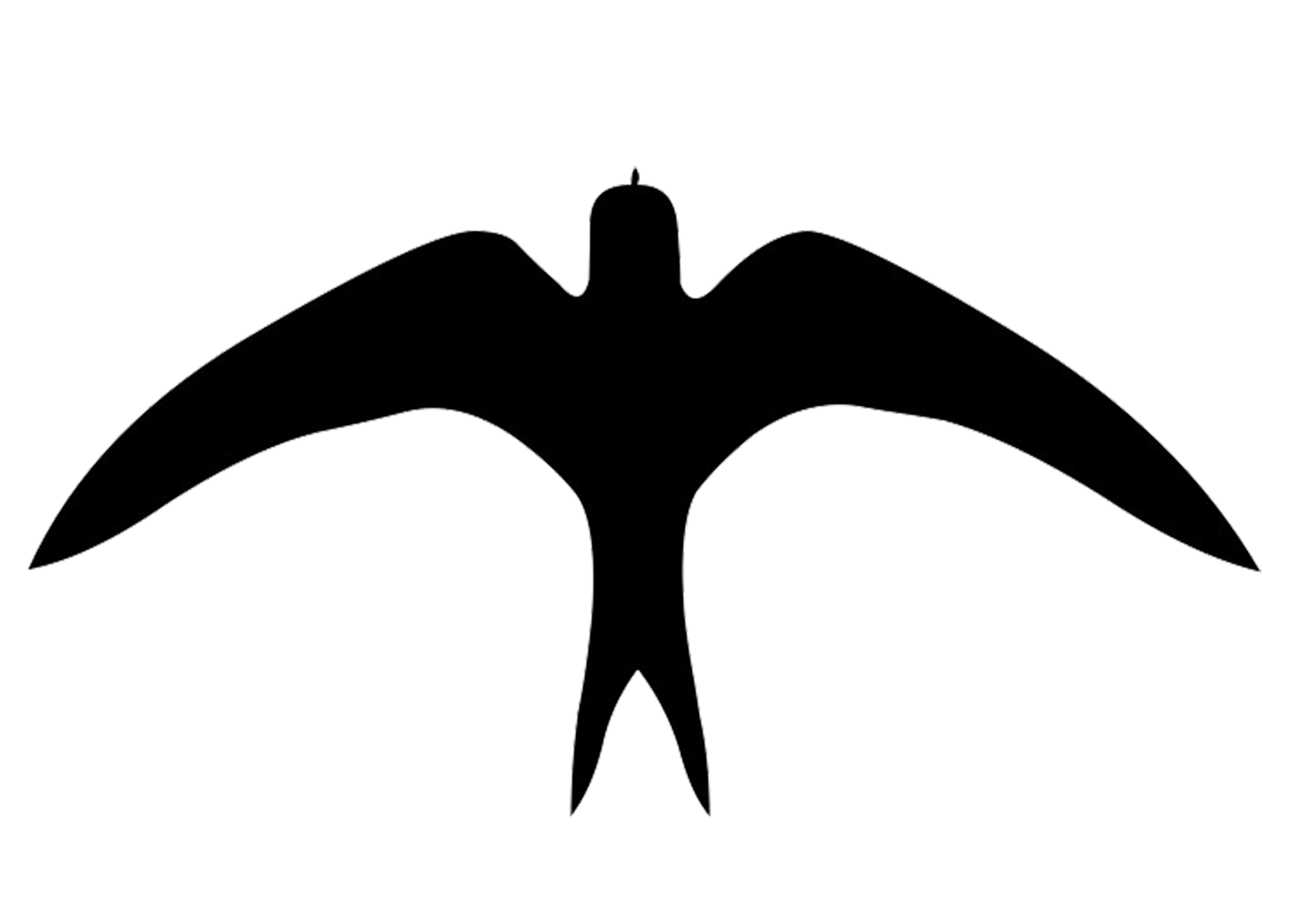 graphic freeuse Bird In Flight Silhouette at GetDrawings