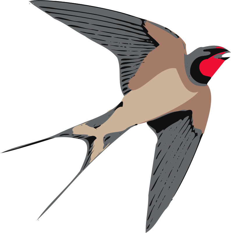 clipart royalty free Barn Swallow Silhouette at GetDrawings