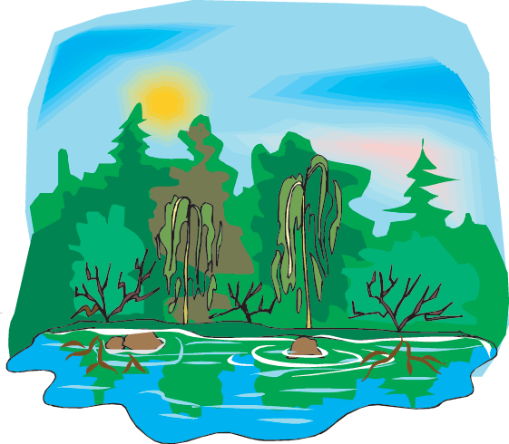 jpg freeuse library Wetland free on dumielauxepices. Swamp clipart