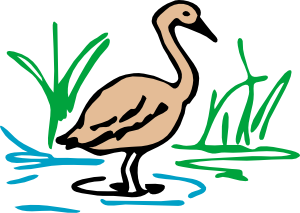 clip free library man in swamp clipart