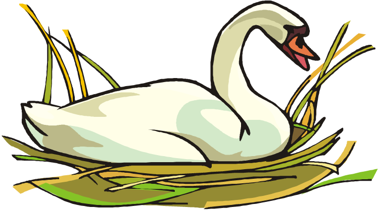 clip freeuse library Free . Swan clipart
