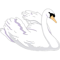 banner stock Download free png photo. Swan clipart