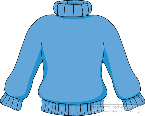 vector freeuse Blue station . Sweater clipart
