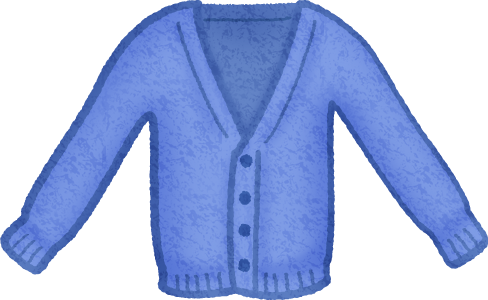 banner free stock Sweater clipart. Blue cardigan free illustrations