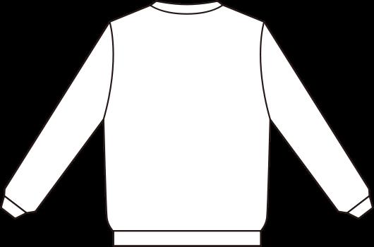 jpg black and white Sweatshirt Back