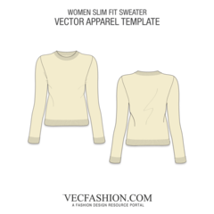 image black and white stock Slim Fit Knitted Sweater
