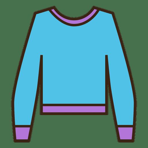 jpg royalty free stock Blue stroke sweater clothing