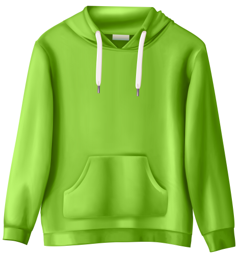 stock Green Sweatshirt PNG Clip Art