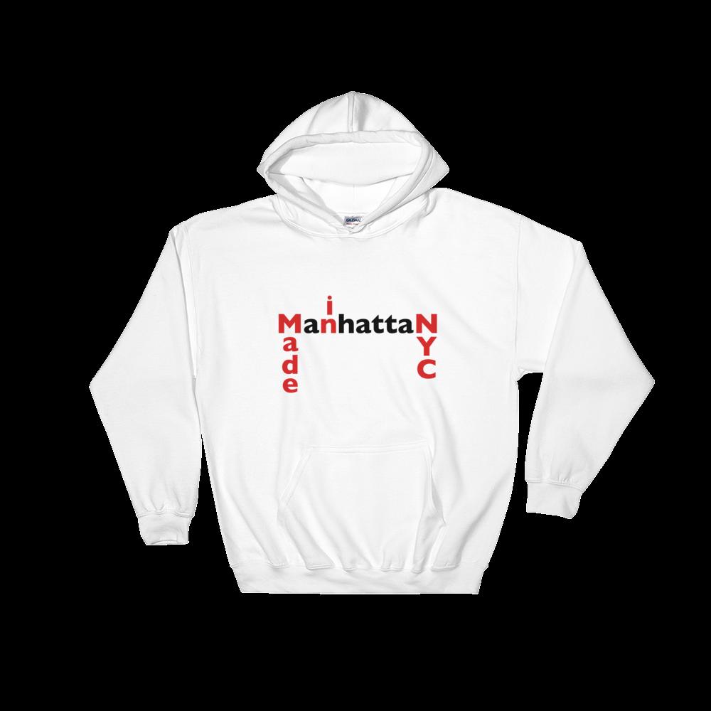 vector free stock MADE IN NYC MANHATTAN Hooded Sweatshirt