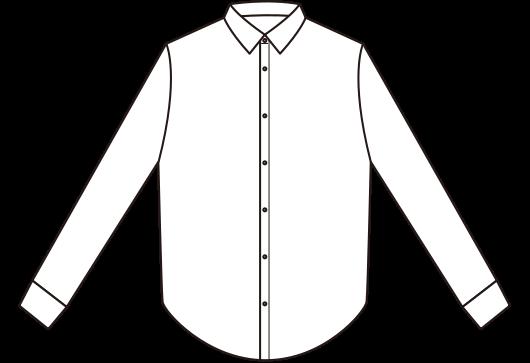 picture library Vector button shirt. Businessshirt front svg public