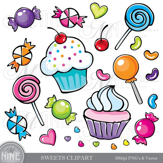 banner black and white stock Candy clip art bay. Sweet clipart cany