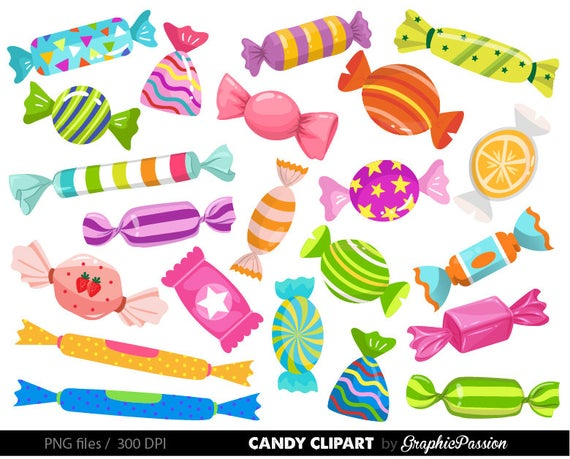clip art download Sweets clipart. Candy graphics wonka party
