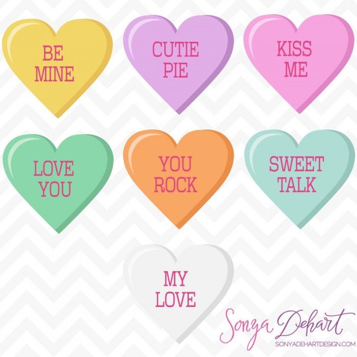 graphic freeuse download Vector candy valentines day. Free hearts cliparts download
