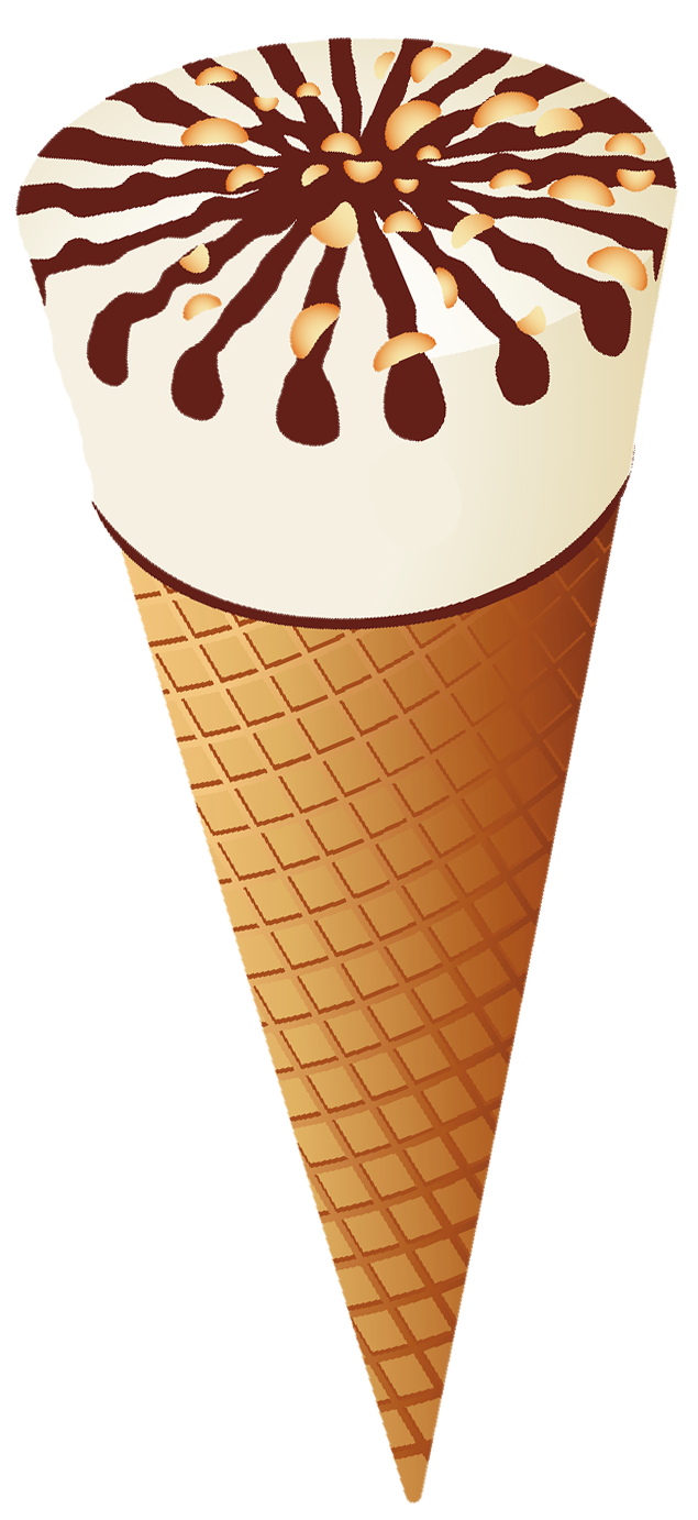 svg free library Waffle cone clipart. Transparent ice cream png