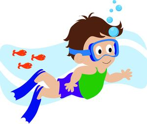 banner Boy swimmer free kid. Kids swimming clipart
