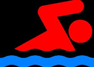 vector Swimming person again clip. Swim clipart