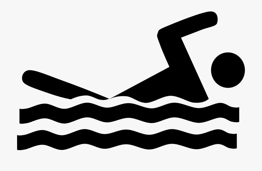 svg library Swimmer water sports transparent. Swimming clipart
