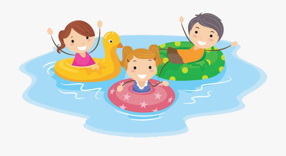 clip royalty free stock Kids swimming clipart. Pool cartoon child clip