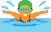 graphic royalty free stock Sports free to download. Swimming clipart