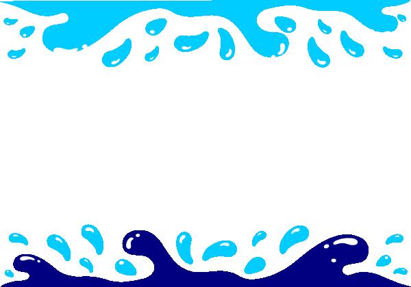 transparent stock Pool Party Clip Art Borders
