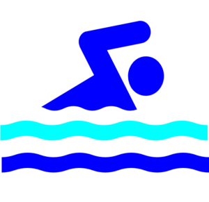 clipart royalty free library Swimming . Swimmer clipart swimmming