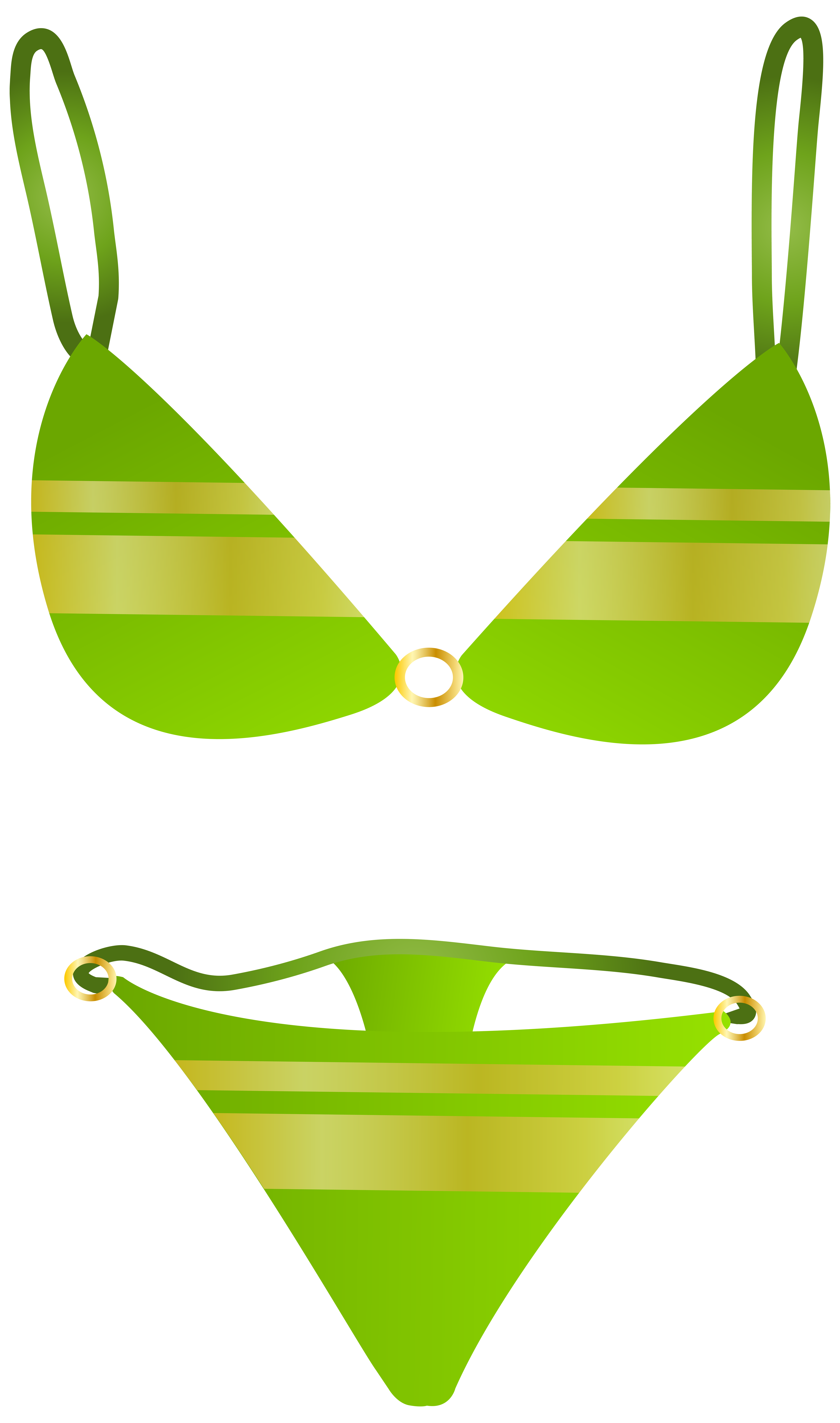 clip art black and white stock Green png clip art. Swimsuit clipart