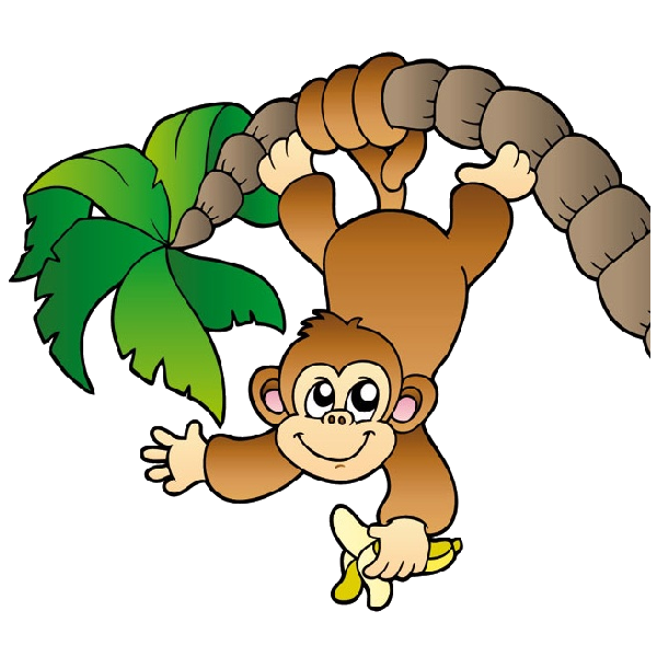 black and white library Cute monkey clipart black and white. Baby face clip art