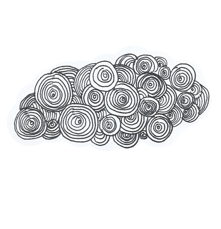 graphic royalty free swirl drawing cloud #104412547